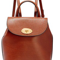Mulberry - Bayswater mini textured-leather backpack