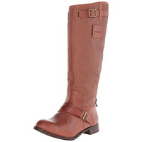 Caterpillar Womens Corrine Leather Knee-High Casual Boots