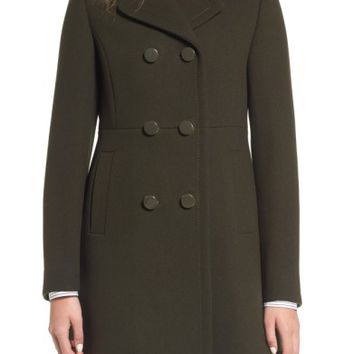 kate spade new york double breasted coat | Nordstrom