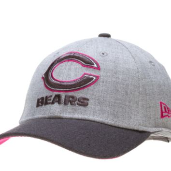 Chicago Bears Breast Cancer 39Thirty Flexfit Hat