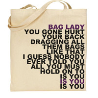 erykah badu bag lady tote