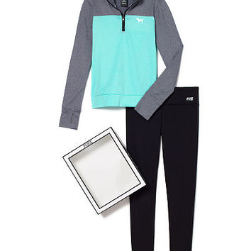 Ultimate Half Zip & Ultimate Legging Gift Set - PINK - Victoria's Secret