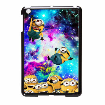Minions Despicable Me In Galaxy Nebula iPad Mini Case