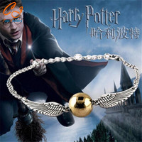 2016 Hot Selling The MovieThe deathly hallows Harry Potter Bracelet Drop -Best Christmas Gift