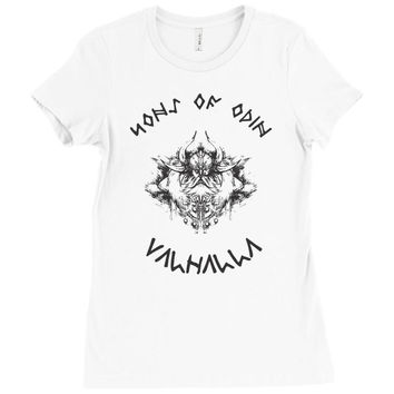 son of odin valhalla Ladies Fitted T-Shirt