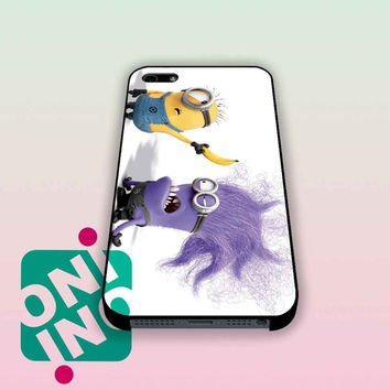 Evil Minion In Despicable Me 2 iPhone Case Cover | iPhone 4s | iPhone 5s | iPhone 5c | iPhone 6 | iPhone 6 Plus | Samsung Galaxy S3 | Samsung Galaxy S4 | Samsung Galaxy S5