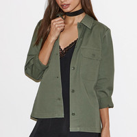 Kendall & Kylie Long Military Jacket at PacSun.com