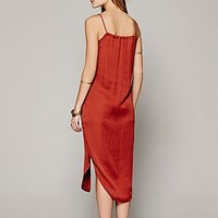 District for Free People Womens Strappy Maxi