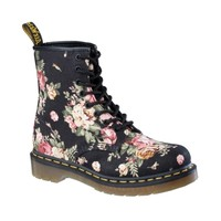 Womens Dr. Martens 1460 8-Eye Flower Boot