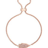 Kathleen Bracelet in Rose Gold Drusy - Kendra Scott Jewelry