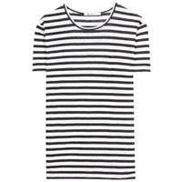 mytheresa.com -  T by Alexander Wang - STRIPE TEE - Luxury Fashion for Women / Designer clothing, shoes, bags