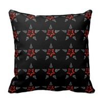 The Star Within (Pattern) throw pillow