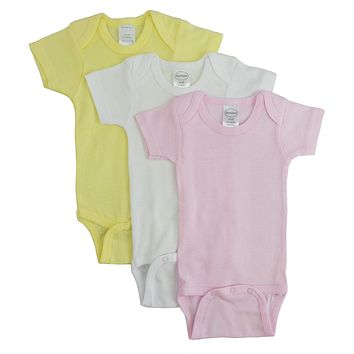 Bambini Pastel Girls Short Sleeve Variety Pack