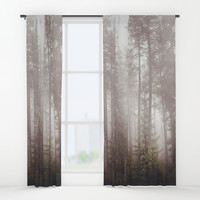 A fogilicious morning Window Curtains by HappyMelvin