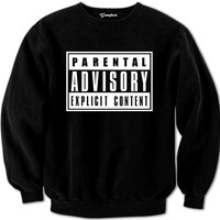 Parental Advisory Crewneck