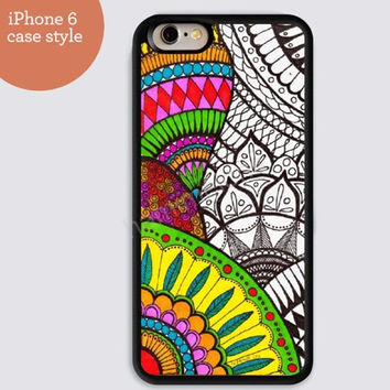 iphone 6 cover,art iphone 6 plus, colorful doodle  colorful IPhone 4,4s case,color IPhone 5s,vivid IPhone 5c,IPhone 5 case