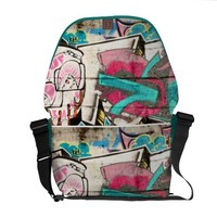Graffiti Bag Courier Bags from Zazzle.com