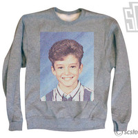 Justin Timberlake Middle School Yearbook WOMENS Sweatshirt x Jumper 064