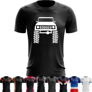Sport Quick Dry Running Shirts Basketball Soccer Training T shirt Funny Men tshirttee Ford Bronco Lifted Mud Tires Truck 5XL 6XL