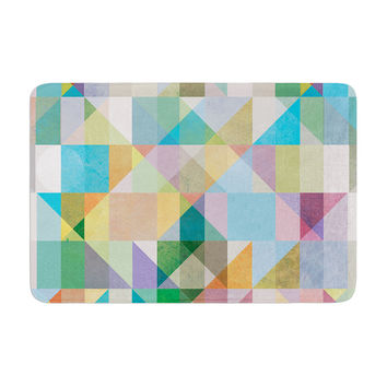 "Mareike Boehmer ""Graphic 74"" Memory Foam Bath Mat, 17"" x 24"" - Outlet Item"