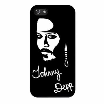 Johnny Depp iPhone 5/5s Case