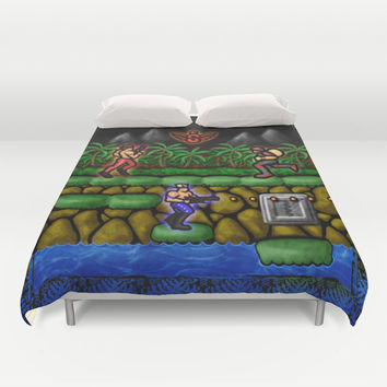 Contra Duvet Cover by Likelikes