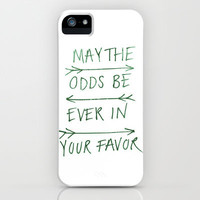 The Hunger Games iPhone & iPod Case by Alyssa Taylor