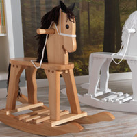KidKraft Derby Rocking Horse - White - 19601