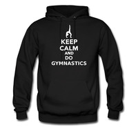 Keep calm and do Gymnastics hoodie sweatshirt tshirt