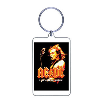 AC/DC Plastic Key Chain Multi