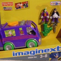 Imaginext Villain Van with exclusive Joker and Penguin action figures