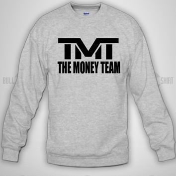 Bull-shirt.com TMT THE MONEY TEAM Crewneck Sweatshirt Bull-shirt.com
