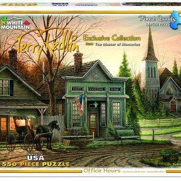 Office Hours - 550 Piece Jigsaw Puzzle