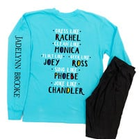 "Jadelynn Brooke You Are My Lobster BLUE  ""Friends"" - Long Sleeve"