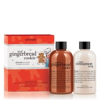 iced gingerbread cookie duo | holiday duo | philosophy new!