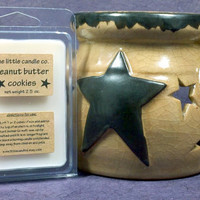 Peanut Butter Cookies Soy Wax Melt - Hand Poured and Highly Scented Soy Wax Tart