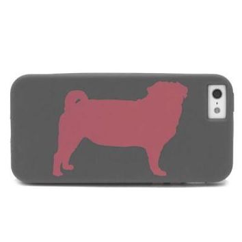 Pug Case for iPhone 5, Pug by Ohlone Press