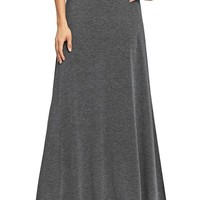Old Navy Womens Jersey Maxi Skirts Size S - Heather charcoal