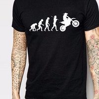 Evolution Motocross Sports Dirtbike T-Shirt
