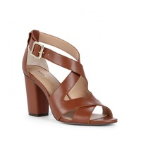 Sole Society Nellee Stacked Heel Sandal