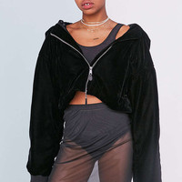 Puma Fenty By Rihanna Cropped Bomber Jacket - Urban Outfitters