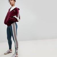 adidas Originals Adibreak Leggings In Dark Gray at asos.com