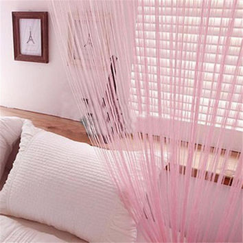 Striking New Line String Window Curtain/Scarf