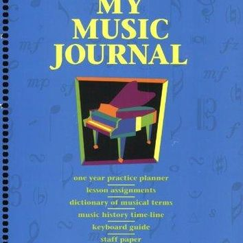 My Music Journal Hal Leonard Student Piano Library SPI
