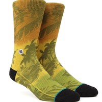 Stance Jah-Loha Crew Socks - Mens Socks - Rasta - One