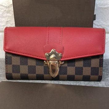 Louis Vuitton Women Fashion Leather Purse Clutch Bag Handbag-2