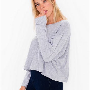 Long Sleeve Pocket Tee | American Apparel