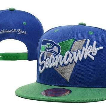 PEAPON Seattle Seahawks 9FIFTY NFL Football Cap M&N