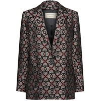 AW16 Jacquard Patch Jacket in Multi