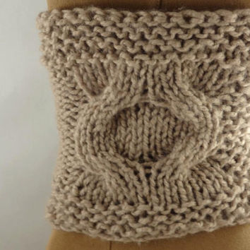 Boot Cuffs Boot Covers Knit Pattern Honey Comb Stitch Boot Covers Knit Pattern